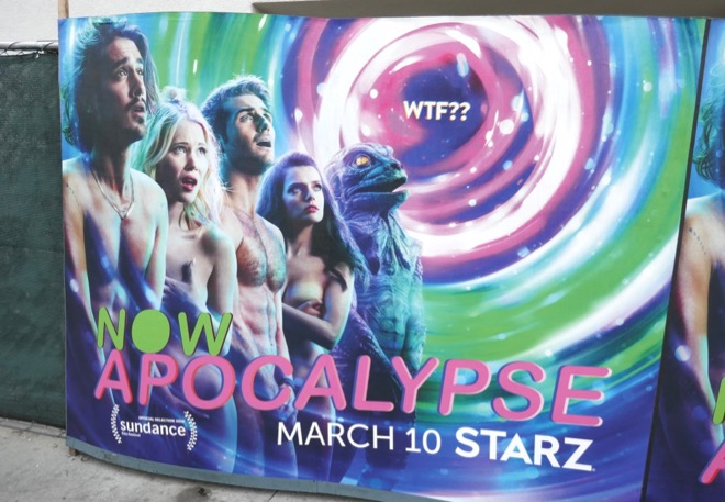 Now Apocalypse street poster