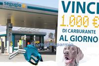 Logo Segugio.IT ''Pieno da 1000 euro con Segugio''  : vinci gratis buoni ENI da 1000€ e 3000€