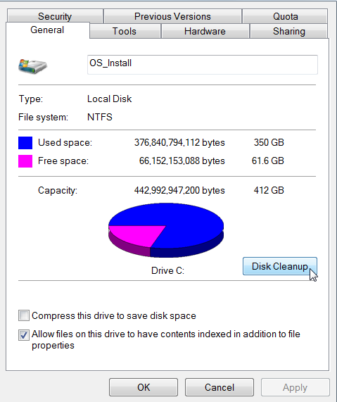 Cara Mengosongkan Hard Disk Di Windows