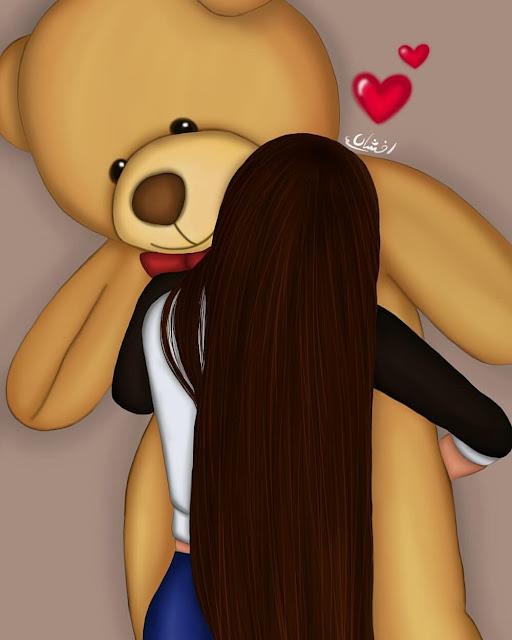 image of hugging teddy bear