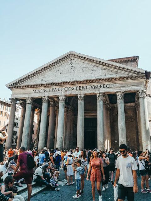 Rzym; Rome; Italy; Włochy; Panteon; Pantheon