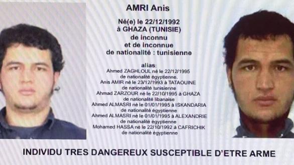 Le Maroc avait prévenu l'Allemagne de la dangerosité d'Anis Amri.