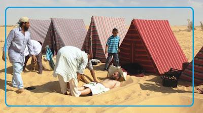 الاستشفاء البيئى فى مصر الطب البديل لكثير من الأمراض