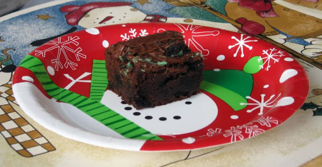 Peppermint Brownies by freshfromthe.com