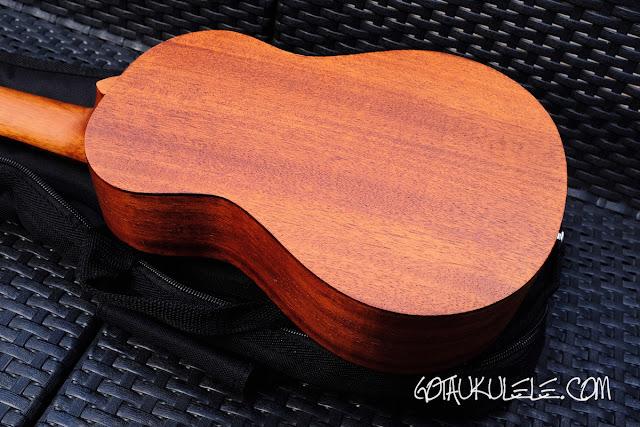 takamine egu-c1 concert ukulele back