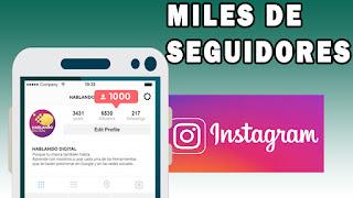 gana seguidores en Instagram fácil