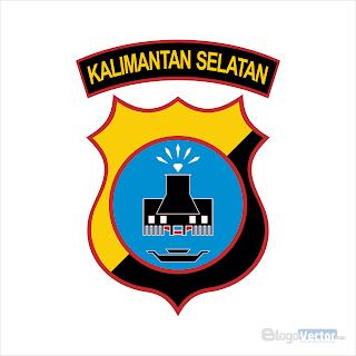 Polda Kalimantan Selatan Logo vector (.cdr)