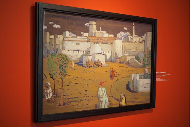 Musée Marmottan Monet - L'orient des peintre - Ville arabe - Kandinsky