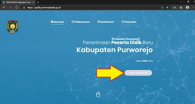Daftar PPDB Online Purworejo Tahun 2020