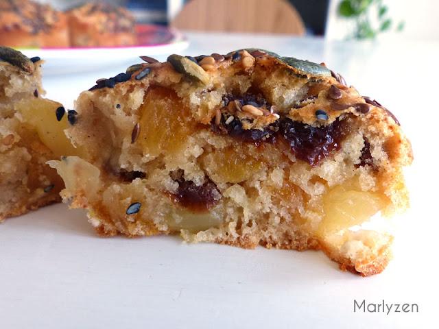 Mini cakes aux fruits
