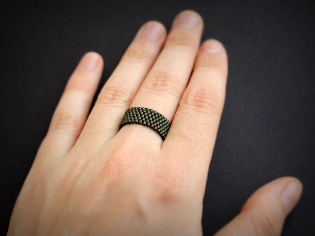 стоимость изделий из бисера купить кольцо 22 размера женское