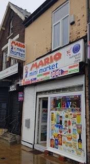 Mario Mini Market in Levenshulme, Manchester