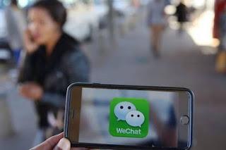 Logo WeChat - Foto/Reuters