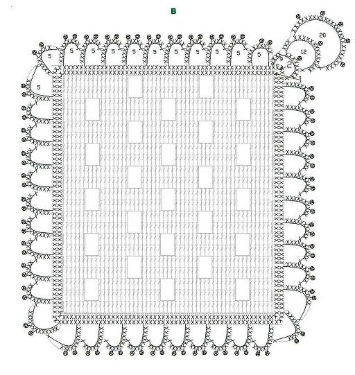 ergahandmade  crochet stitch   doily   diagrams   pattern