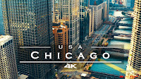 Chicago, USA 🇺🇸 - by drone [4K]