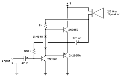 Amp Circuit Diagram