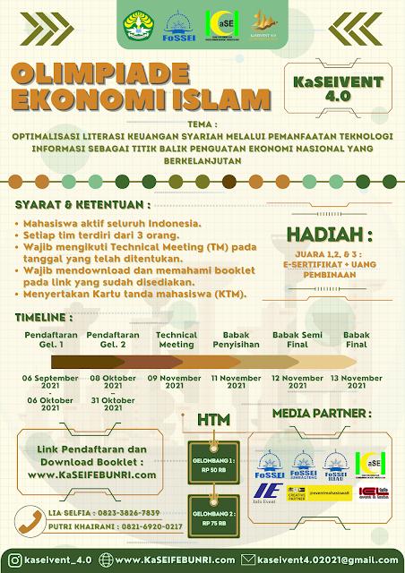 OLIMPIADE EKONOMI ISLAM NASIONAL