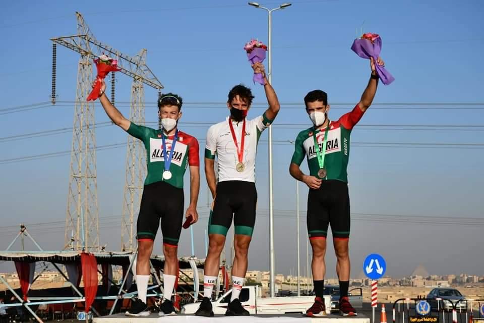 البطولة الإفريقية لدراجات على الطريق: فضيتان و برونزية جديدة للجزائر في اليوم الأخير