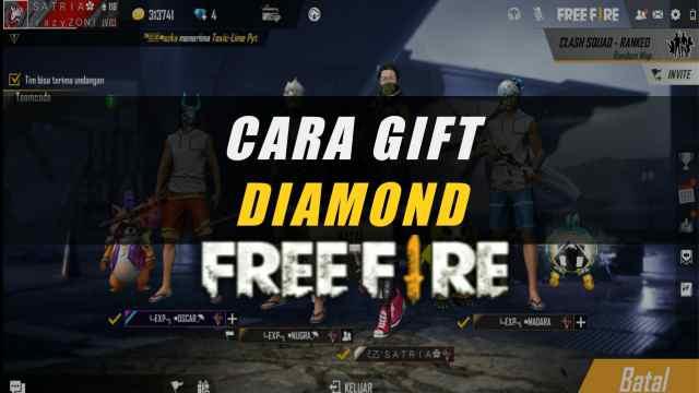 Cara Gift Diamond FF ke Teman