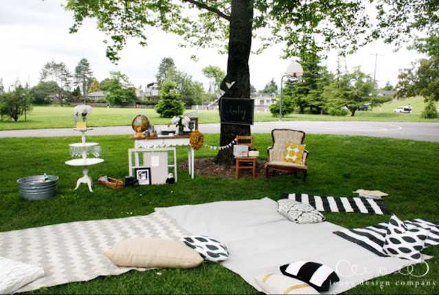 Outdoor Picnic Baby Shower ideas