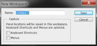 photoshop cs6 : new workspace window