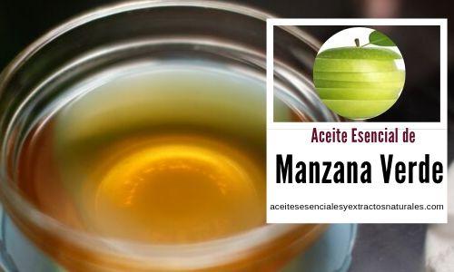 El aceite de manzana verde tiene propiedades antiespasmodicas, relajantes y anti-insommnio
