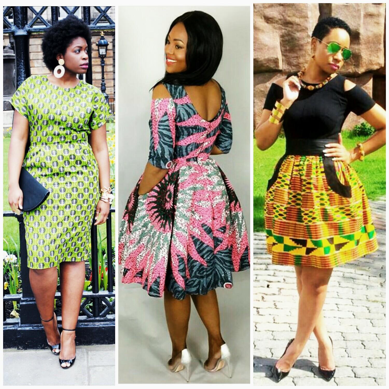 Short Ankara Kitenge Styles Africa