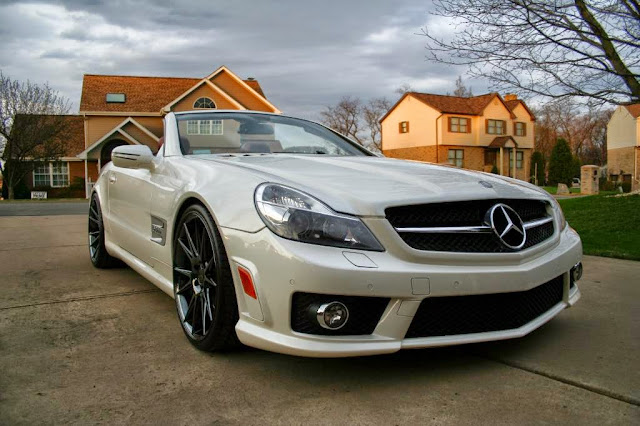 mercedes sl63 tuning