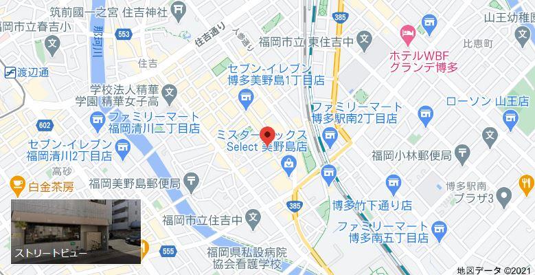 サンディッシュカフェ(sandish cafe)までの地図