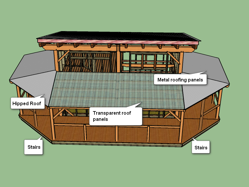 Timber Frame Cabin Building Log Porch Roof Design And Construction Overview