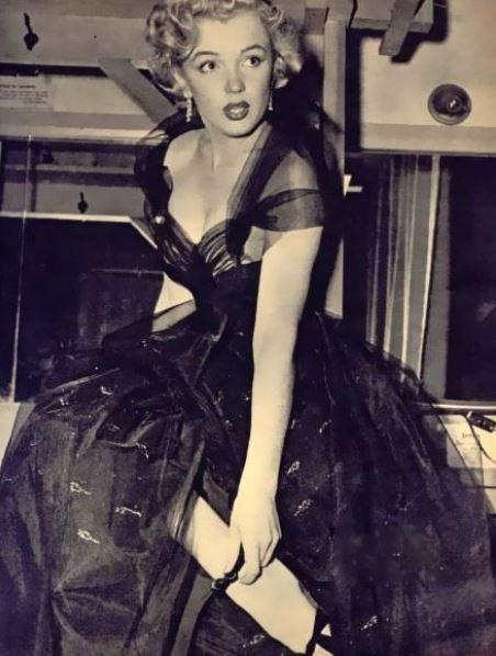 Marilyn Monroe vestido Oscar 1951