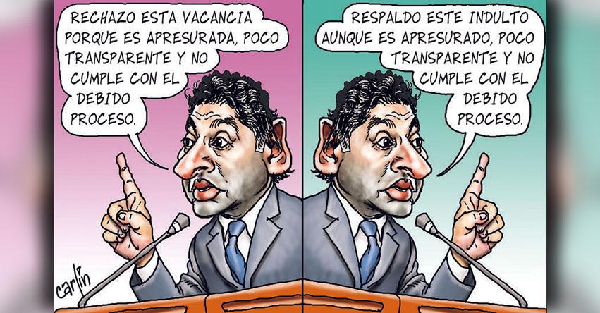 Carlincaturas Lunes 8 Enero 2018 - La República