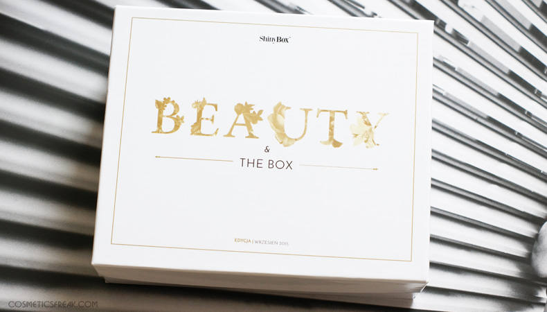 WRZEŚNIOWY SHINYBOX - BEAUTY & THE BOX