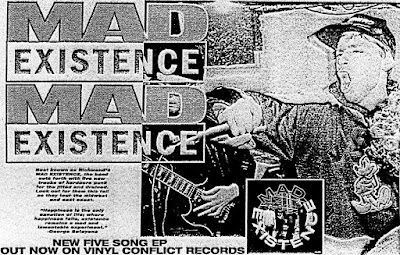 MAD EXISTENCE - Self Titled 7""