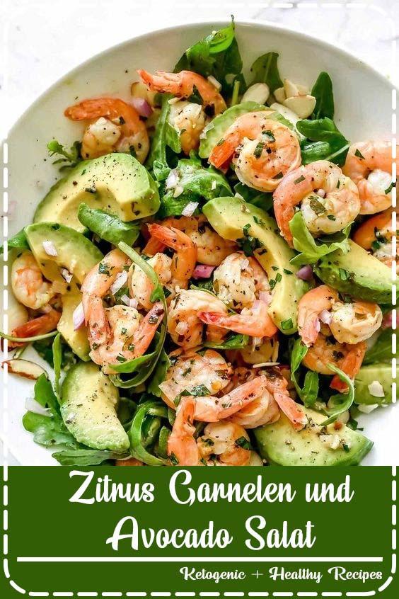 zitrus garnelen und avocado salat simple delicious dinner