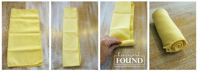 spring Easter tablescape inspiration napkin folding DIY home decor tutorial