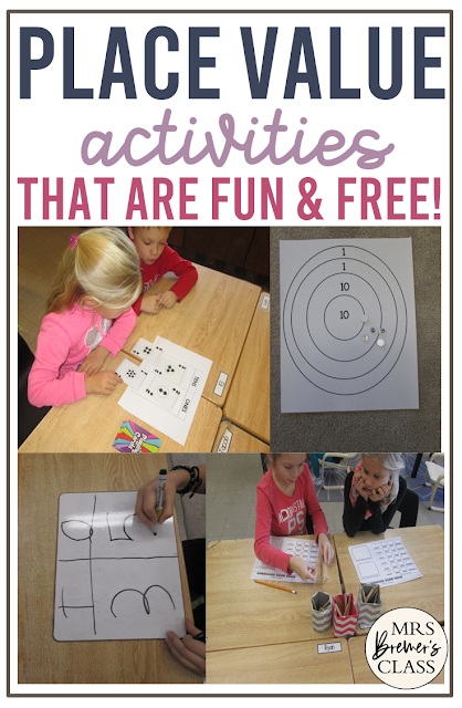Place value activities, ideas, and games for math practice in Second Grade