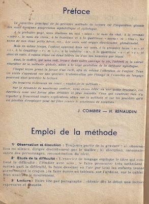 René et Maria, méthode directe de lecture, préface (collection musée)