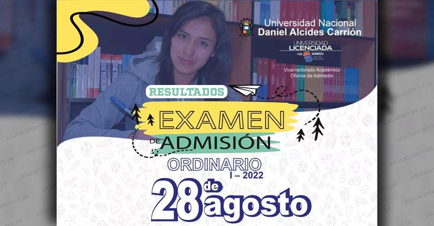 Resultados UNDAC 2022-2 (Sábado 28 Agosto 2021) Lista de Ingresantes - Examen de Admisión Ordinario - Universidad Nacional Daniel Alcides Carrión | www.admision.undac.edu.pe | www.undac.edu.pe