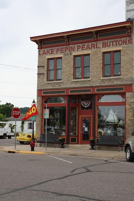 Lake Pepin Pearl Button Co in Lake City, Minnesota