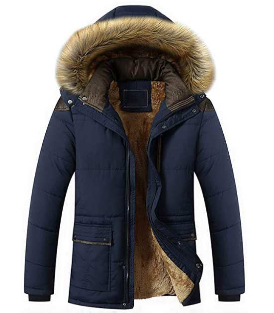 Winter Clothes Men Jacket Parka Slim Thick Warm Coats new clothes fashion