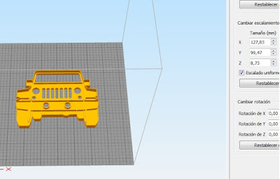 Cortante de Jeep en formato STL - increible diseño para imprimir 3D