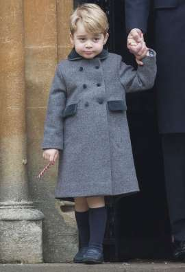 Prince George's $147 Christmas Coat Sells Out in Hours