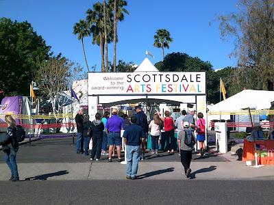 Scottsdale Arts Festival - March 11-13, 2016 - Civic Center Mall