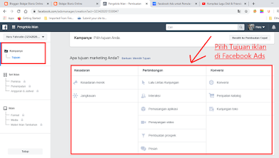 Ads Manager di Facebook Ads
