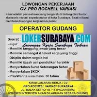 Info Loker Surabaya di CV. Pro Rochell Variasi Juli 2020
