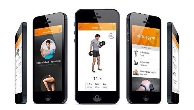 تنزيل تطبيق VirtuaGym Fitness FULL APK النسخة المدفوعة كاملة للاجهزة الاندرويد