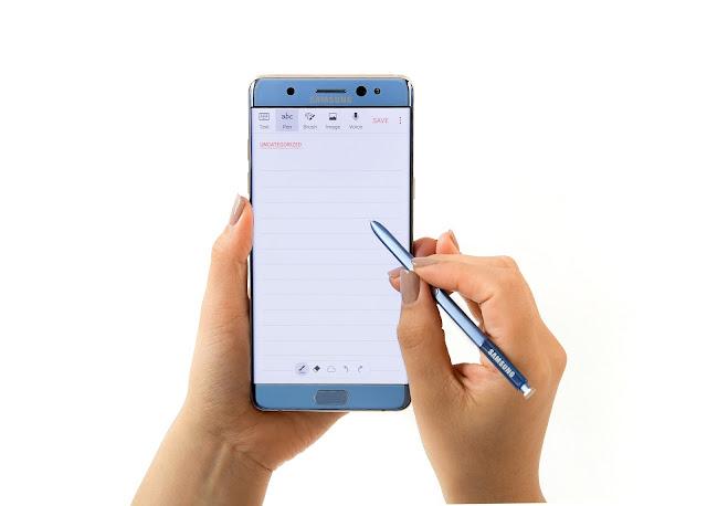 Cómo el S Pen Evolucionó con el Galaxy Note7