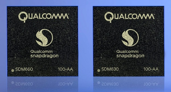 Qualcomm Snapdragon 660 and 630 processors announced with Quick Charge 4 and Bluetooth 5