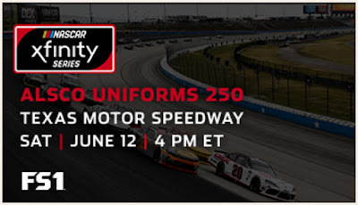 NASCAR Xfinity Series Alsco Uniforms 250 powered by Cheddar's